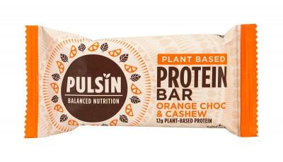 Протеинов бар с портокал и шоколадови парченца 50 г