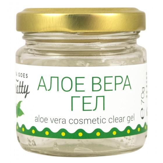 Aloe Vera Clear Gel, Zoya Goes Pretty ®,  70 g