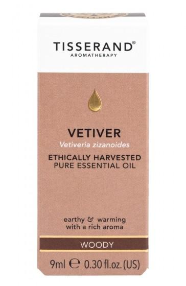 Vetiver Essential Oil - 9ml, Tisserand® Aromatherapy,  9 ml
