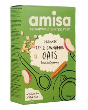 Organic Gluten Free Oats - Apple and Cinnamon 300 g