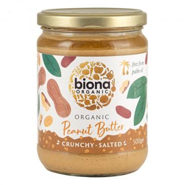 Organic Nut Butter - Peanut Crunchy - 500g / 1kg