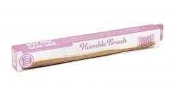 Бамбукова четка за зъби - розова,  1 бр
