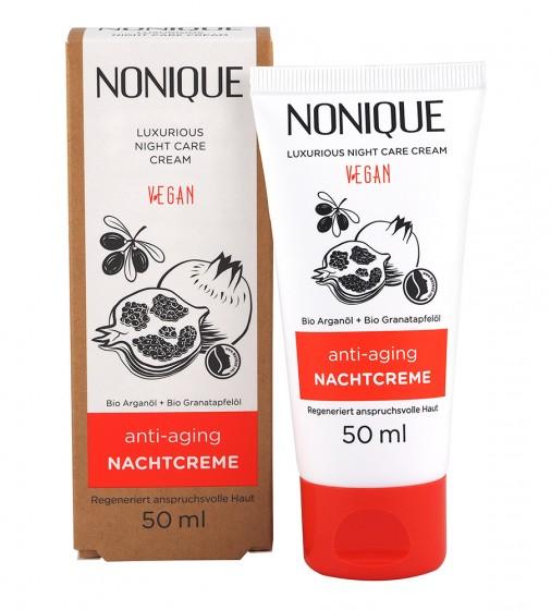 Нощен крем против стареене - 50 мл, Nonique,  50 мл