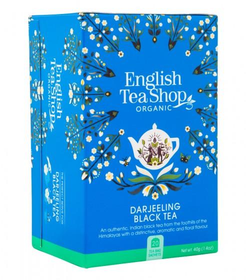 """Органичен черен чай """"Darjeeling"""" , English tea shop,  20 бр"""