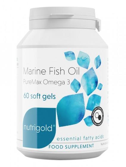 Рибено масло - ултра пречистено, NutriGold,  60 бр