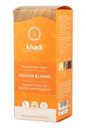 Билкова боя за коса - Средно рус цвят, Khadi,  1 бр