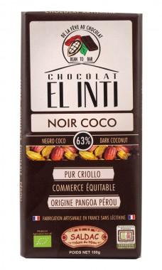 Био тъмен шоколад с кокос – 100 г