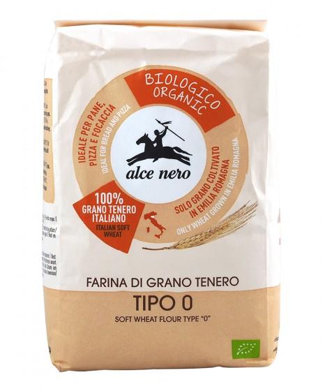 Био фино смляно брашно от мека пшеница – 1 кг, Alce Nero,  1 кг