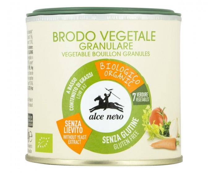 Зеленчуков бульон с 4 зеленчука – 120 г, Alce Nero,  120 г