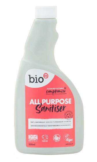 Универсален препарат за почистване - пълнител - 500 мл, Bio-D,  500 мл
