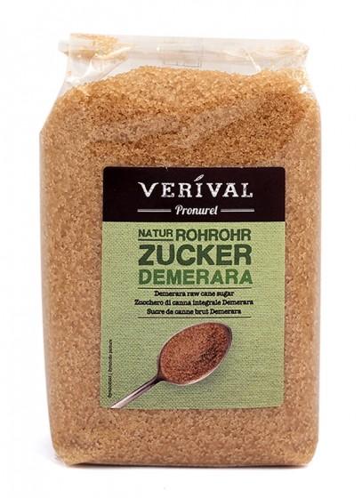 Сурова тръстикова захар Демерара – 500 г, Verival,  500 г