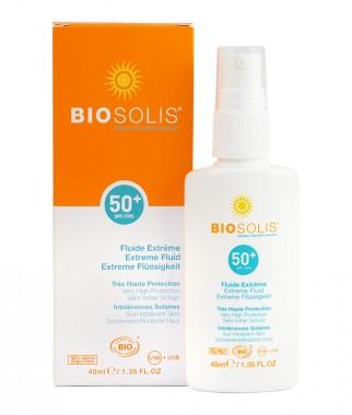 Слънцезащитен флуид за лице SPF50+ – 40 мл
