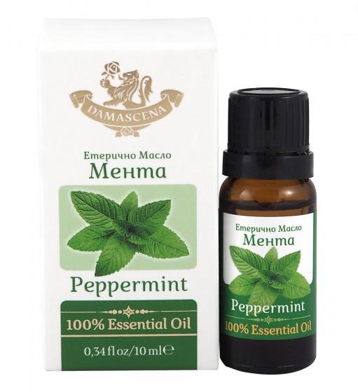 Натурално масло от мента – 10 мл, Дамасцена,  10 мл