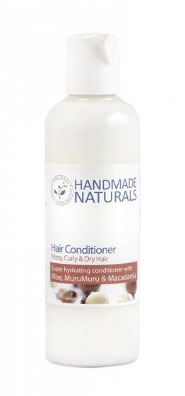 Балсам за къдрава коса с алое и муру муру – 125 мл, Handmade Naturals,  125 мл