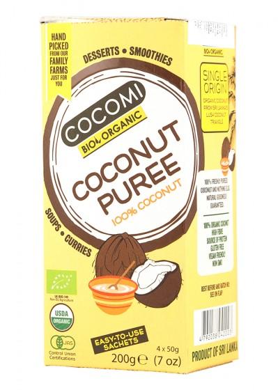 Organic Creamed Coconut – 200 g, Cocomi,  200 g