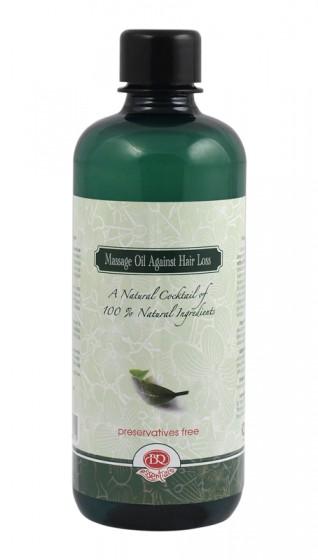 Натурално масажно масло против косопад – 500 мл, Bularosa,  500 мл