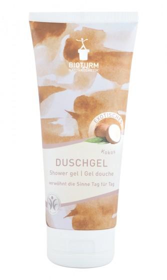 Душ-гел с аромат на кокос – 200 мл, Bioturm,  200 мл