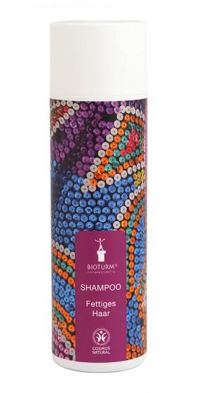 Натурален шампоан за мазна коса – 200 мл, Bioturm,  200 мл