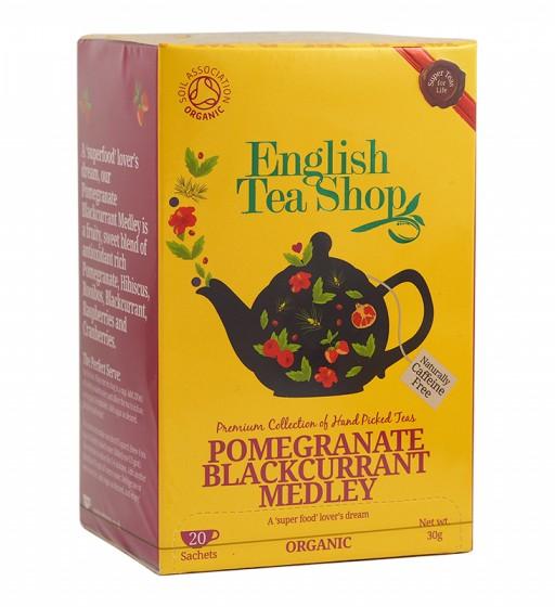 Органичен чай с нар и касис