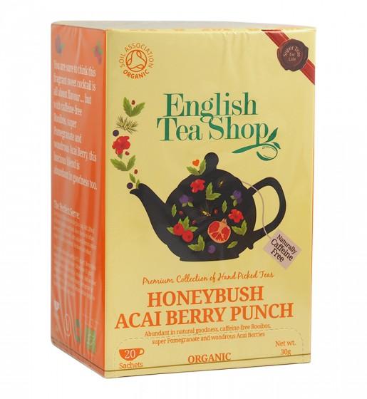 Органичен чай със сладък храст и плодове асай