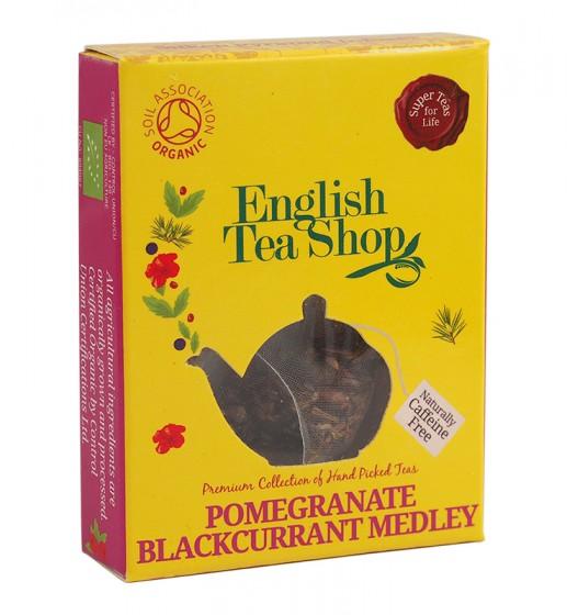 Органичен чай с нар и касис – 2 г, English tea shop,  2 г