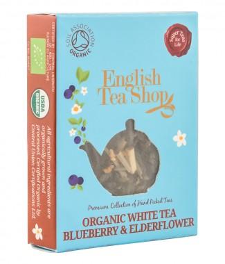 Органичен бял чай с боровинка и бъз – 2 г