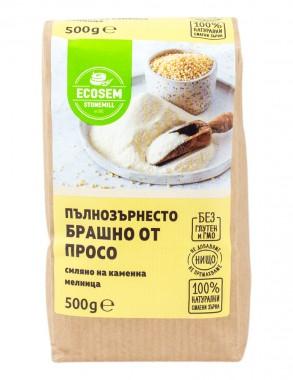 Natural Stone Ground Millet Flour – 500g