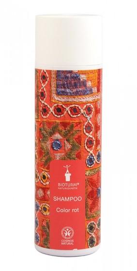 Натурален шампоан за червена коса Colour Red - 200 мл, Bioturm,  200 мл
