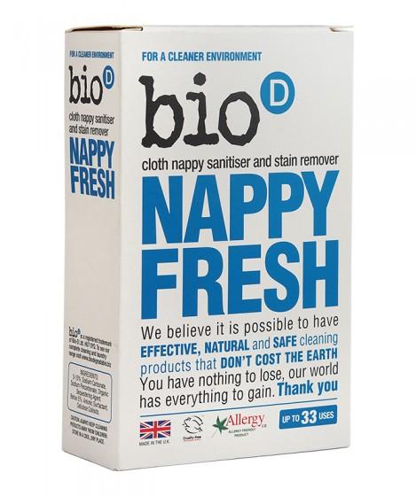 Препарат за текстилни пелени Nappy Fresh – на прах – 500 гр, Bio-D,  500 г