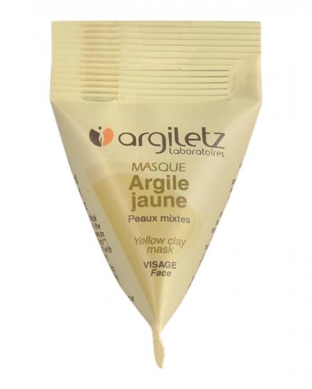Готова маска за лице с жълта глина – 15 мл, Argiletz,  15 мл