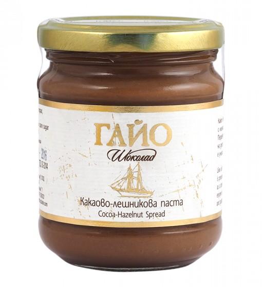 Какаово-лешникова паста Гайо - 200 гр