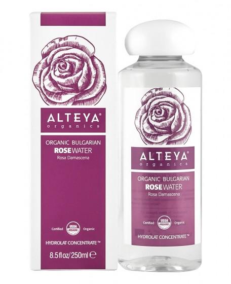 Органична розова вода - 250 мл, Alteya Organics,  250 мл