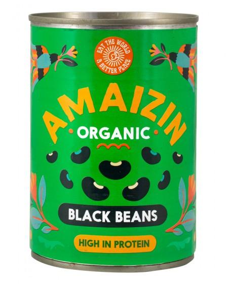 Био черен боб консерва – 400 гр., Amaizin,  400 г