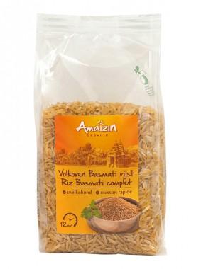 Кафяв ориз басмати за бързо варене – био – 400 гр