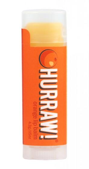 Балсам за устни Портокал – 4,3 гр, Hurraw! Balm,  4.3 г