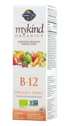 Витамин B-12 спрей – 58 мл, Garden of Life®,  58 мл