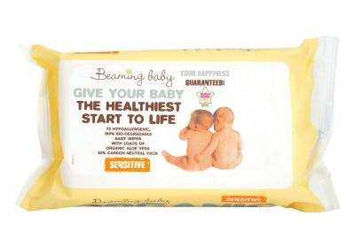Био бебешки кърпички – чувствителна кожа – 72 бр.