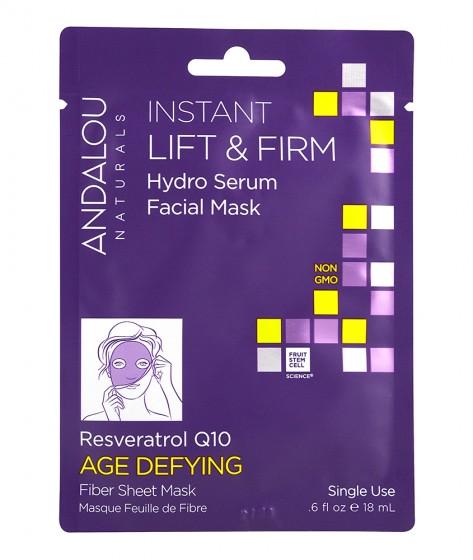 Готова стягаща маска-серум за лице – 18мл, Andalou,  18 мл