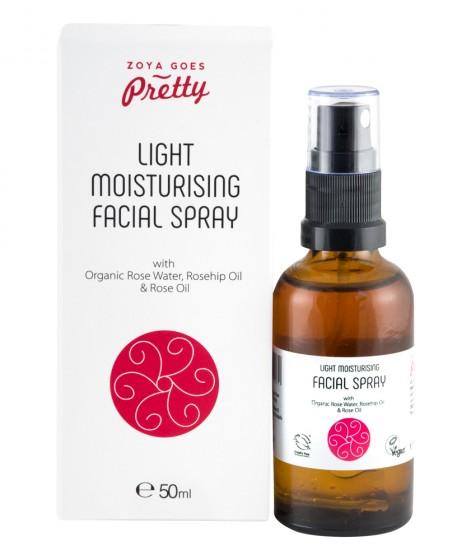 Спрей за лице с шипка и роза - био - 50мл - ZoyaGoesPretty, Zoya Goes Pretty ®,  50 мл