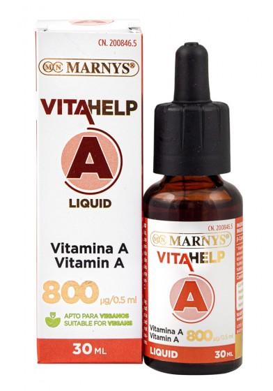 Течен витамин A - 30 мл, Marnys,  15 мл