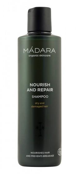 Шампоан за суха и увредена коса – 250 мл, Madara,  250 мл