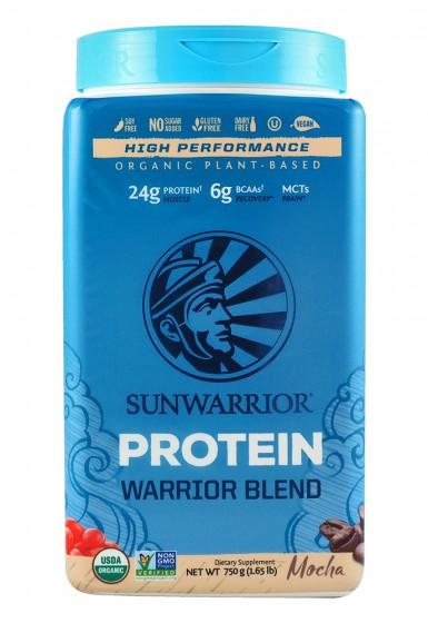 "Протеин ""Warrior Blend"" - мока - 750 г, Sunwarrior,  750 г"