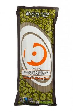 Безглутенови нудъли от кафяв ориз и амарант с кейл - 250 г