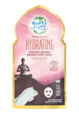 Хидратираща маска за лице с бамбуково платно - био