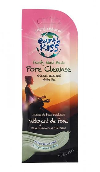 Почистваща порите глинена маска за лице – 17 гр, Earth Kiss,  1 бр