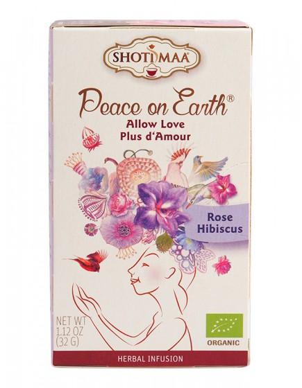 "Чай ""Мир на Земята"" Wild Rose Hibiscus - 32 гр., Hari's ,  32 г"