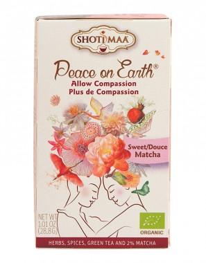 """Чай """"Мир на Земята"""" Sweet Matcha - 28 гр."""