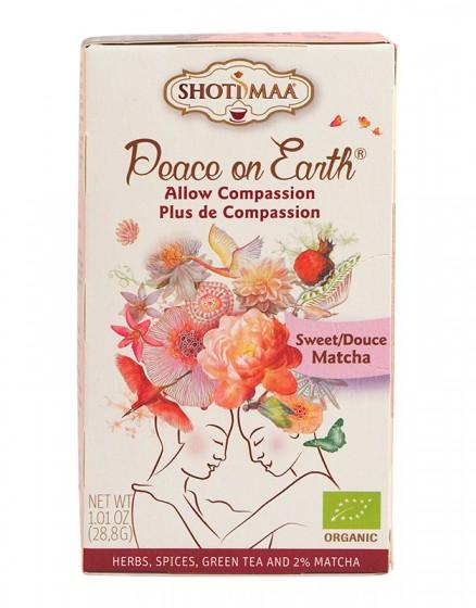 """Чай """"Мир на Земята"""" Sweet Matcha - 28 гр., Hari's ,  28 г"""