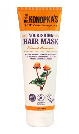 Натурална подхранваща маска за коса – 200 мл
