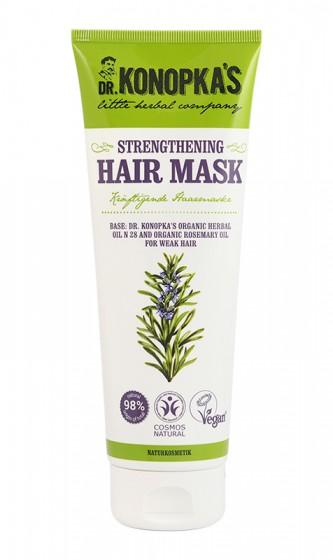 Натурална укрепваща маска за коса – 200 мл